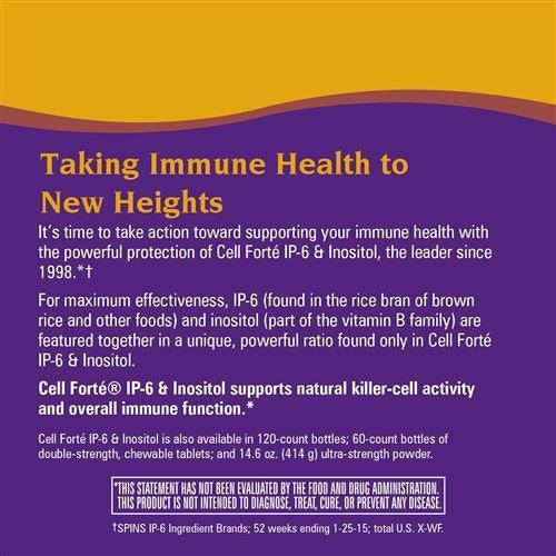 Cell Forte IP-6 & Inositol 240 veg caps by Nature's Way