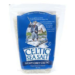 Celtic Ocean Int., Celtic Sea Salt Light Grey 1 lb
