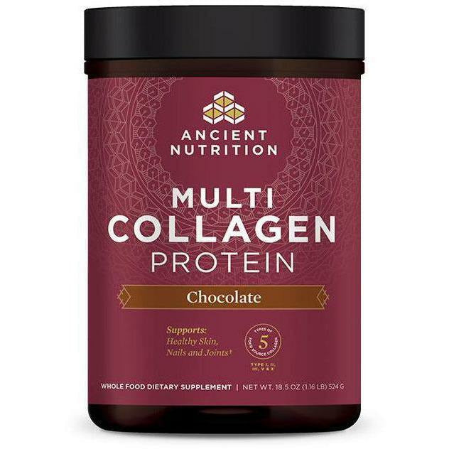 Ancient Nutrition, Multi Collagen Protein Powder (Chocolate)