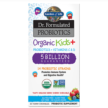 Dr formulated Organic Kids+, Garden of Life