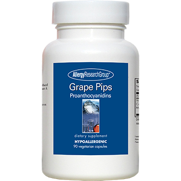 Grape Pips Proanthocyanidins 90 vcaps by Allergy Research Group