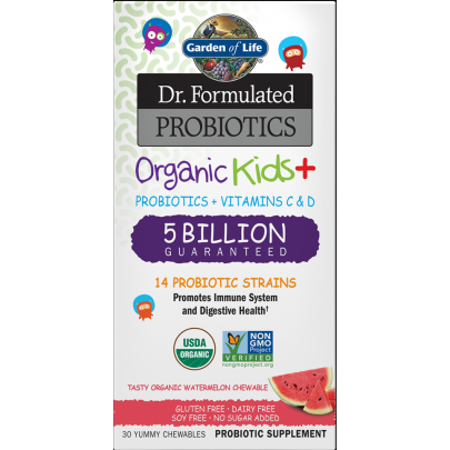 Organic Kids Probiotics Watermelon By Garden Of Life