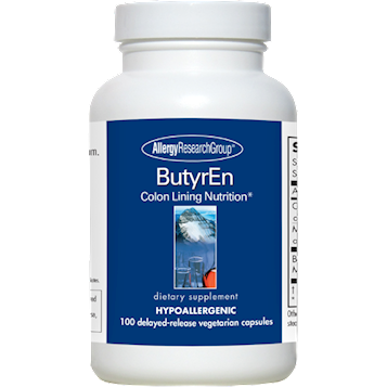 ButyrEn 100 tabs by Allergy Research Group