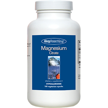 Magnesium Citrate 180 vcaps by Allergy Research Group