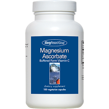 Magnesium Ascorbate 100 vcaps by Allergy Research Group