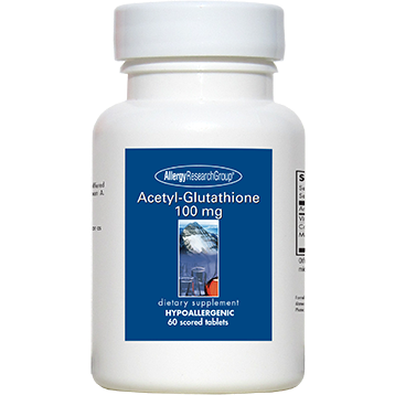 Acetyl-Glutathione 100 mg 60 tabs by Allergy Research Group