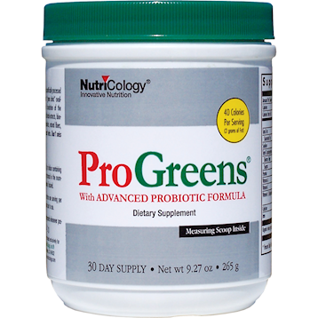 ProGreens Powder 9.27 oz by NutriCology