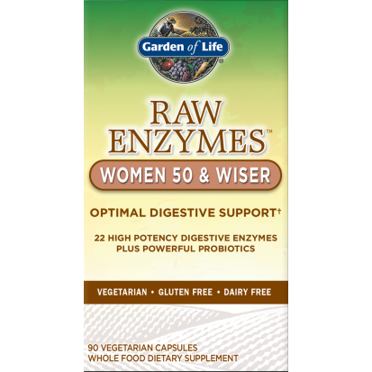 RAW Enzymes Women 50 & Wiser By Garden Of Life