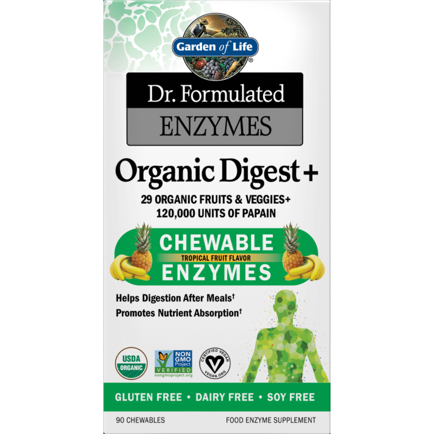 Dr. Formulated Organic Digest by Garden Of Life