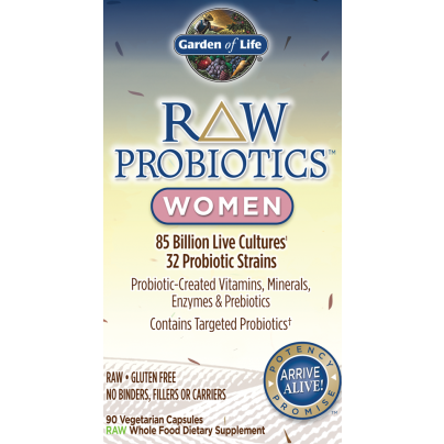 RAW Probiotics Women, Garden Of Life