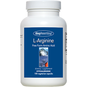 L-Arginine 500 mg 250 caps by Allergy Research Group