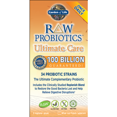 RAW Probiotics Ultimate Care, Garden Of Life