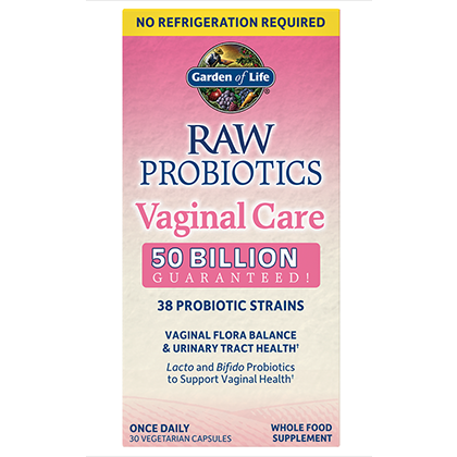 RAW Probiotics Vaginal Care, Garden Of Life