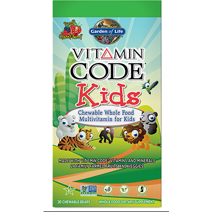 Vitamin Code Kids Chewable Multi By Garden Of Life