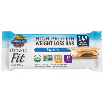 Organic Fit Bar S'mores 12 bars by Garden Of Life Single Bar