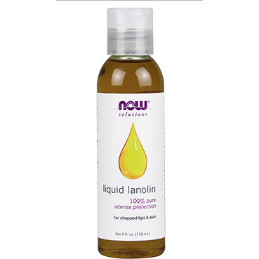 Liquid Lanolin (100% Pure) 4 fl oz by NOW