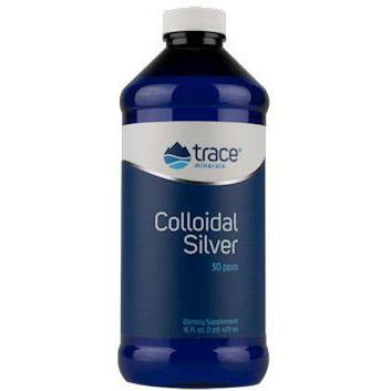 Trace Minerals Research, Colloidal Silver 30 PPM 8 fl oz