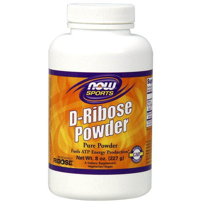 NOW, D-Ribose Powder 8 oz
