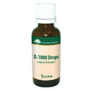 Seroyal Genestra, D3 1000 Drops 1 oz