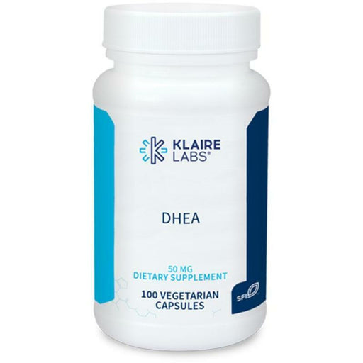 Klaire Labs, DHEA 50 mg 100 caps