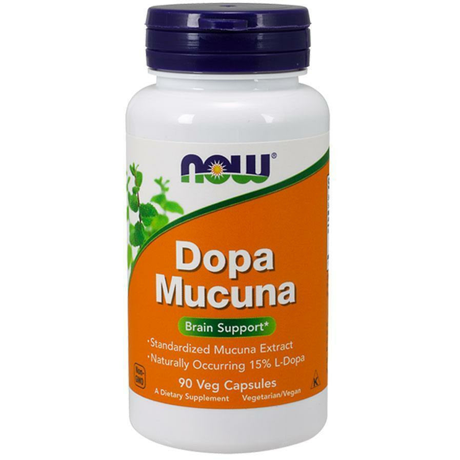 NOW, Dopa Macuna 90 vcaps