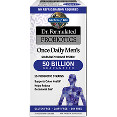 Garden of Life, Dr. Formulated Once Daily Men 30 vegcaps