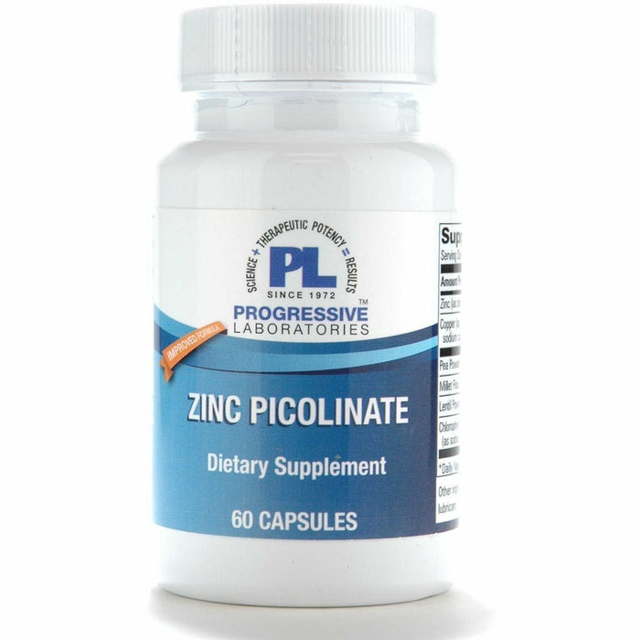 Progressive Labs, Zinc Picolinate 60 caps