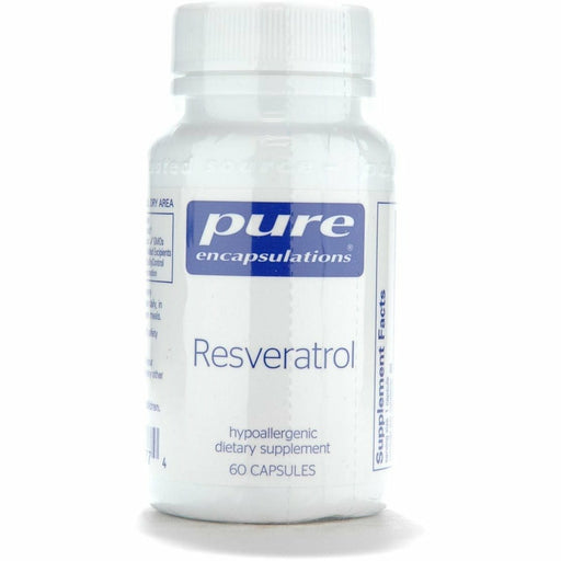 Pure Encapsulations, Resveratrol 200 mg 60 vcaps