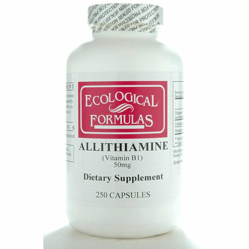 Ecological Formulas, Allithiamine (Vitamin B1) 50 mg 250 caps
