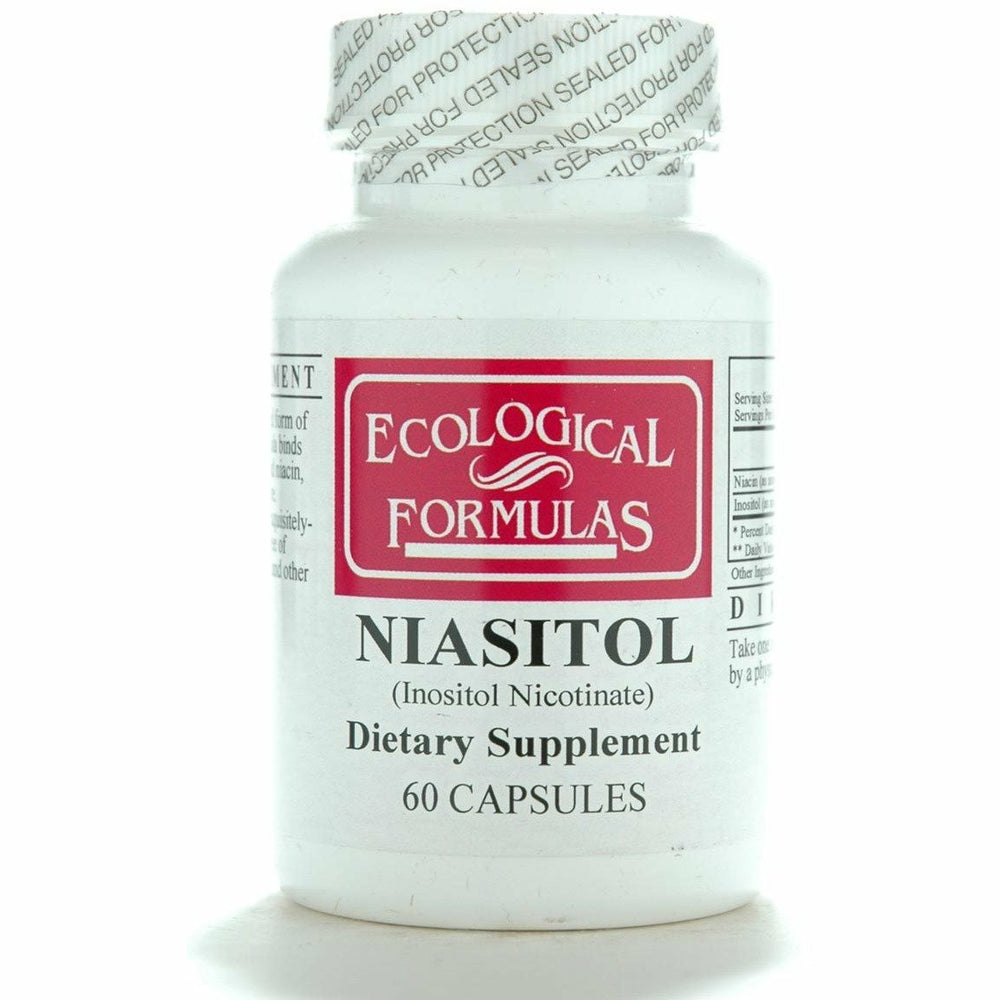 Ecological Formulas, Niasitol 400 mg 60 caps