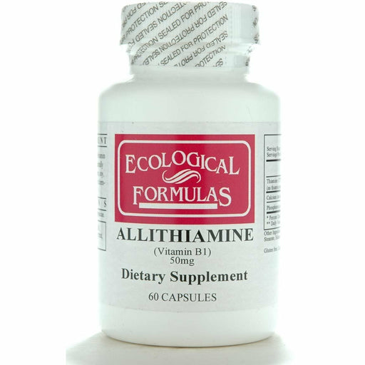 Ecological Formulas, Allithiamine 50 mg 60 caps