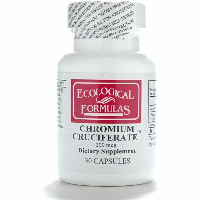 Ecological Formulas, Chromium Cruciferate 200 mcg 30 caps