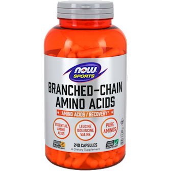Now, Branched Chain Amino Acids 240 Caps