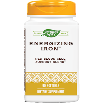 Nature's Way, Energizing Iron 90 gels