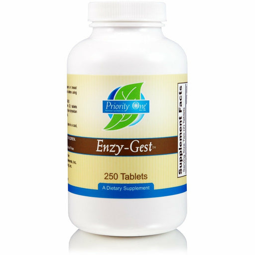 Priority One Vitamins, Enzy-Gest 250 tabs