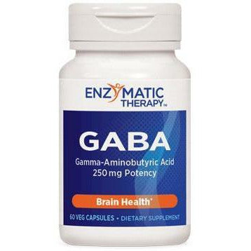 Enzymatic Therapy, GABA 60 caps