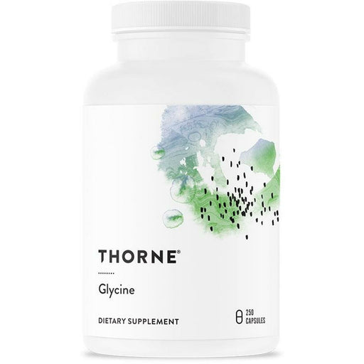 Thorne Research, Glycine 500mg 250 Capsules