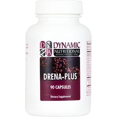 Dynamic Nutritional Associates (DNA Labs), Drena-Plus 90 Caps