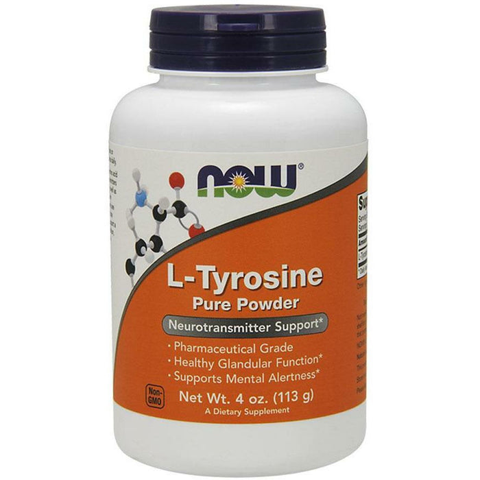 NOW, L-Tyrosine 4 oz