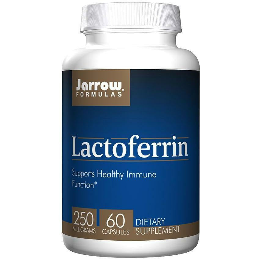 Jarrow Formulas, Lactoferrin Freeze-Dried 250 mg 60 caps