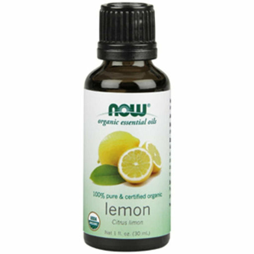 Organic Lemon Oil 1 oz by NOW