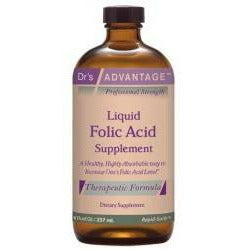 Dr.'s Advantage, Liquid Folic Acid Supplement 8 oz