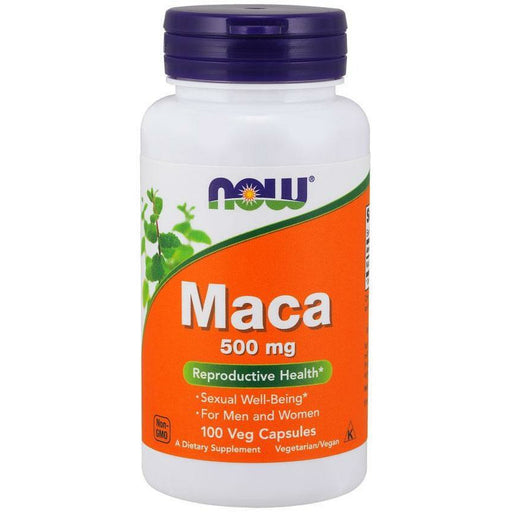 NOW, Maca 500 mg 100 caps