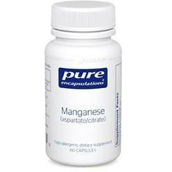 Manganese (aspartatecitrate) 60 vcaps
