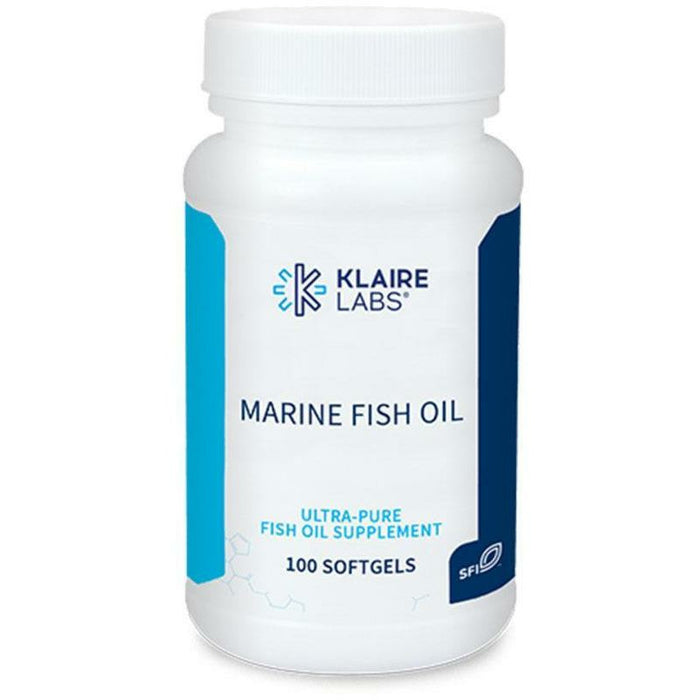 Klaire Labs, Marine Fish Oil 100 gels