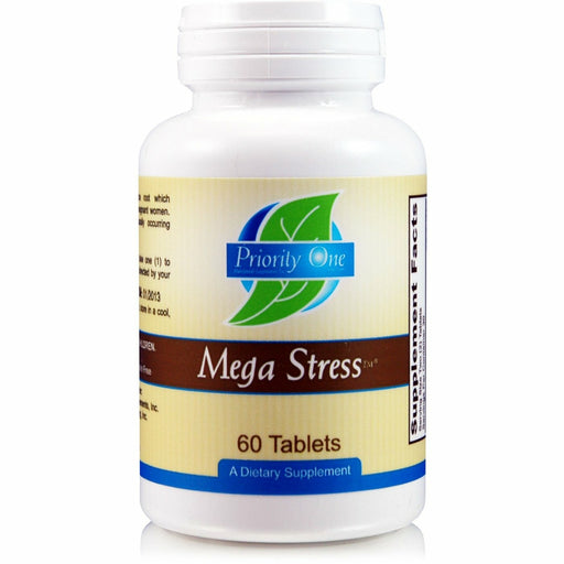 Priority One Vitamins, Mega Stress 60 tabs