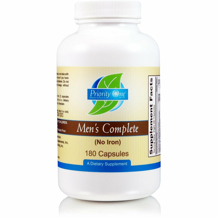 Priority One Vitamins, Men's Complete