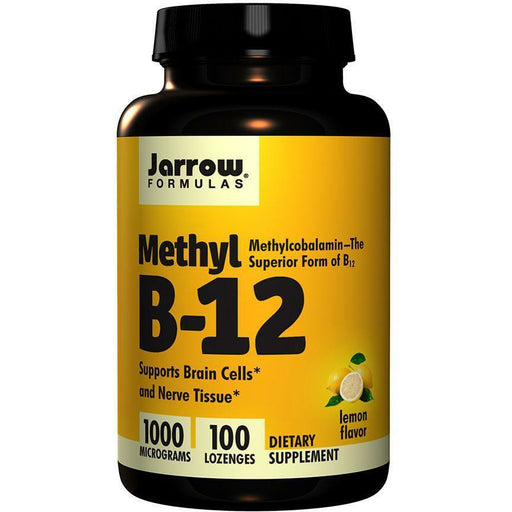 Jarrow Formulas, Methyl B-12 1000 mcg 100 lozenges