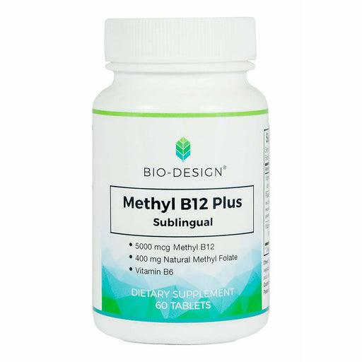 Biodesign, Methyl B12 Plus 5000 mcg 60 tabs