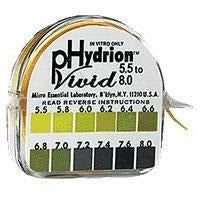 PERQUE, pH Hydrion Papers (5.5-8.0) 1 roll